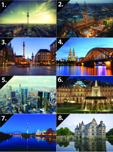 nemecke mesta